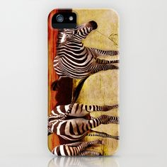 The Zebras iPhone Case by AD DESIGN Photo + PhotoArt - $35.00