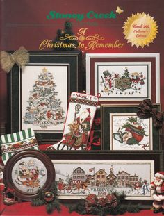 Cross Stitch Book - Stoney Creek Collection Book 200 - A Christmas To Remember - Cross Stitch Pattern Book by SimplyCraftSupplies on Etsy