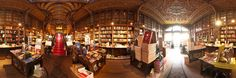Livraria Lello & Irmão, also known as Livraria Chardron or simply Livraria Lello (Lello Bookshop) is a bookshop located in central Porto, Portugal. Along with Bertrand in Lisbon, it is one of the oldest bookshops in Portugal.   Panoramic photography 360