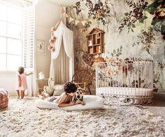 """"" This magical nursery room is like a fairytale come true! Swipe 👉🏻 for more… """" This magical nursery room is like a fairytale come true! Swipe 👉🏻 for more lovely details! ㅤ Photo + deco – """" Baby Bedroom, Nursery Room, Girls Bedroom, Nursery Decor, Nursery Ideas, Whimsical Nursery, Storybook Nursery, Budget Nursery, Fairy Nursery"
