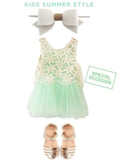 Special Occasion Little Girl's Summer Style | ParentSavvy
