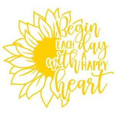Silhouette Cameo Tutorials, Silhouette Projects, Silhouette Design, Silhouette Files, Sunflower Quotes, Cricut Explore Air, Silhouette America, Cricut Creations, Cricut Vinyl