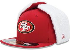 85681a7485d San Francisco Red Dog Ears 2012 Winter Sideline Hat ♥ I want this!