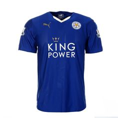 Leicester City FC Home Kit 2015/16