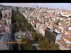 Aerial views of the scenic city Lisbon Portugal, video footage from travel video Portugal - An Adventure of Discovery
