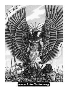 Aztec Tattoo Symbols 06 - http://aztectattoo.org/aztec-tattoo-symbols-06/