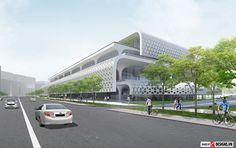 Kiến trúc trung tâm văn hóa thành phố Đài Trung