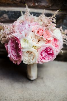 beautiful bridal bouquet | lily green thumb | charlotte, nc wedding photographer