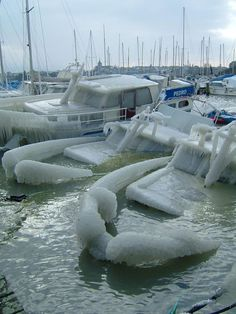 Ice storm …