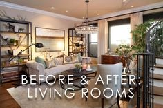 Vibrant Transitional Living Room Before and After | San Diego Interior Designers Transitional Living Rooms, Transitional Decor, San Diego, Gallery Wall, Designers, Vibrant, Traditional, Interior Design, Home Decor