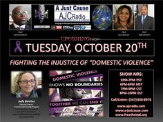 """A Just Cause - Fighting the Injustice of """"Domestic Violence"""" by AJC Radio"""