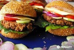 Vega hamburger zabfasírttal