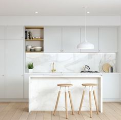 marble & grey scale kitchen | adele bates design Simple.form