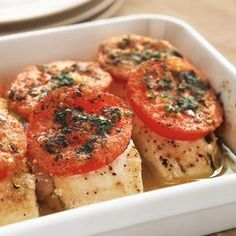 easy halibut recipe...going to try this