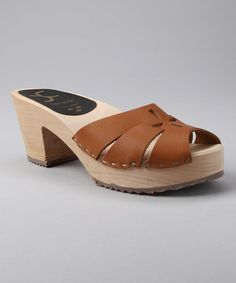 Take a look at this Natural Bohemian Slide - Women by Cape Clogs on #zulily today!