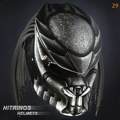 "Options airbrushing helmet ""Predator"" 