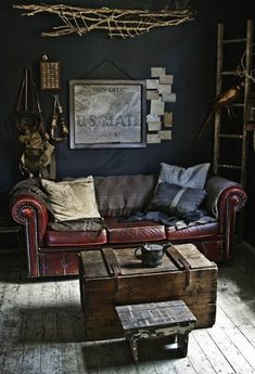 Add a Dramatic Touch by Using Dark Tones Furniture
