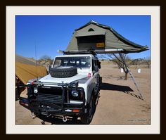 Another interesting pied a terre. Overland Expo 2011.