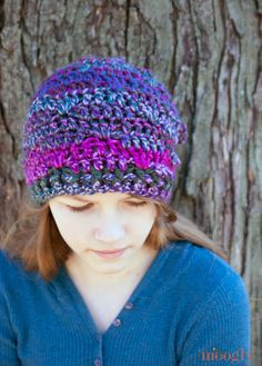 Bulky yarns are on trend, and so are the Luscious One Skein Cowl - and the…