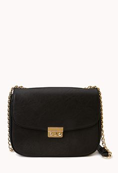 Faux Leather Crossbody | FOREVER 21 - 1000050713