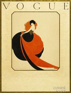 Vintage Vogue Cover
