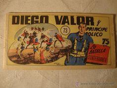 COMIC COMANDANTE ESPACIAL ESPACIO DIEGO VALOR Nº 73 DE LA COLECCION ORIGINAL DEL AÑO 1954 (2)