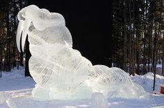 .walrus ~ ice sculpture