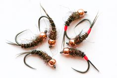 Great looking Pheasant Tail Nymph variants from North Country Angler.