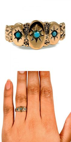 This wedding band from the Victorian era is truly enchanting.
