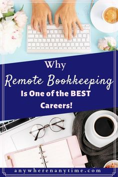 Work from home. Keep it as a side hustle or grow it into a full-time career. Here are all the reasons why remote bookkeeping is one of the best careers there is! Work From Home Careers, Work From Home Business, Online Work From Home, Work From Home Moms, Online Business, Business Ideas, Best Careers For Moms, Bookkeeping Course, Bookkeeping Business