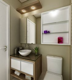 Trendy Home Small Bathroom Medicine Cabinets 62 Ideas Bathroom Sink Vanity, Bathroom Storage, Bathroom Medicine Cabinet, Medicine Cabinets, Bathroom Design Small, Bathroom Colors, Modern Bathroom, Modern Baskets, Home Bar Cabinet