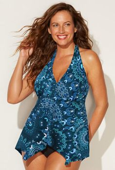 2a79c5e8df5 Separates - Netanya Handkerchief Halter Top Halter Top Swimsuits