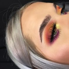 """6,216 Likes, 141 Comments - MORGAN ✨ (@jahdefinitelyfeel) on Instagram: """"DO U SEE THAT INNER CORNER THO?! (pro tip: i mixed sphere from abh prism with marshmallow from…"""""""