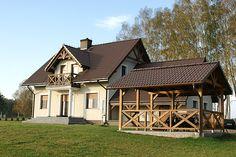 Realizacja projektu Azalia 4. Pełna prezentacja projektu znajduje się na stronie: http://www.domywstylu.pl/projekt-domu-azalia_4.php.  #azalia, #realizacje, #domywstylu, #mtmstyl