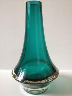 Rare Aubergine Colour Vintage Riihimaki Vase 1379 By Erkkitapio Siiroinen Scandinavian Pottery, Porcelain & Glass