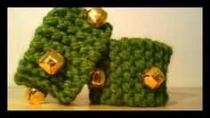DIY knitted ankle/wrist bells for movement and dance