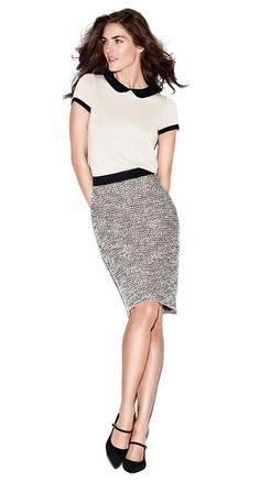 Ann Taylor Loft Fall 2013 .... So excited to start working here! Amazing clothes at affordable prices. I absolutely adore this top.