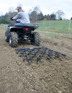 ATV Chain Harrow 4'