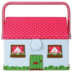 Cath Kidston - House Sewing Basket