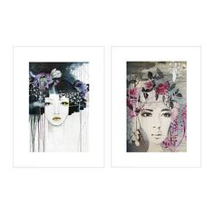 TVILLING Poster, set of 2 IKEA You can personalise your home with artwork that expresses your style. Motif created by Anahata Katkin. Ikea Picture Frame, Picture Wall, Ikea Family, Poster Prints, Art Prints, Hanging Wall Art, Oeuvre D'art, Portrait, Home Furniture