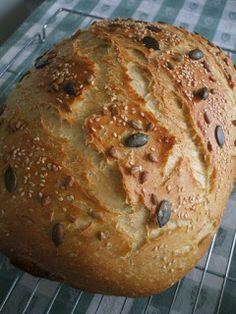 Morzsamesék: Magvas fehér Bread, Food, Meal, Essen, Breads, Buns, Sandwich Loaf