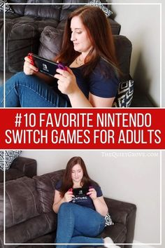 Nintendo is known for making family-friendly games, but they aren't just for kids. Here are 10 great Nintendo Switch Games for Adults.  #NintendoGames #SwitchGames Adult Games, Games For Kids, Rainy Day Games, Nintendo Switch Games, Games To Buy, Indoor Games, Family Games, Just Kidding, Friends Family