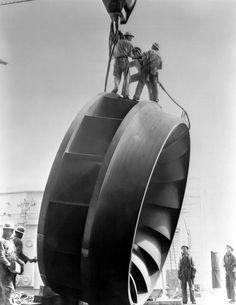 Turbine Francis du barrage de Grand Coulee …