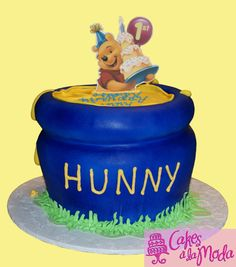 Winnie the Pooh Cake by Cakes a la Moda