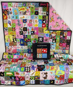 I Spy Quilt Girl's Pony Look Quilt with Rhyming I Spy