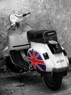 Union Jack ♔ Motor Bike
