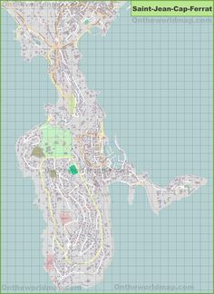 Large detailed map of Cala Ratjada | Maps | Map и Diagram