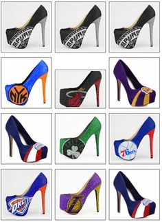 NBA Heels stilettos