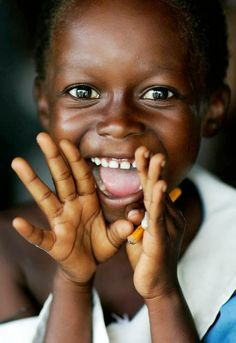 15 Ideas For African Children Photography Happiness Pure Joy Just Smile, Happy Smile, Smile Face, Happy Faces, Smiling Faces, Happy Boy, Stay Happy, Beautiful Smile, Beautiful World