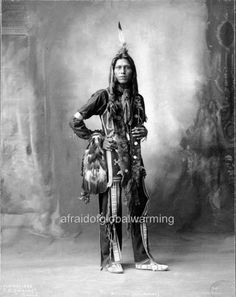 Photo. 1890s. Dust Maker - Native American Ponca Indian